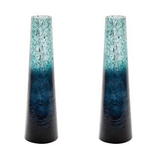 Dimond Home Emerald Ombre Snorkel Vase