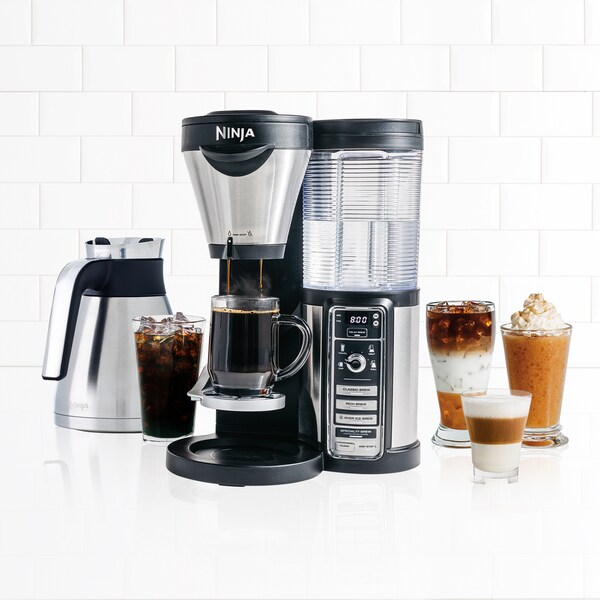 Ninja CF086 Coffee Bar Brewer with Milk Frother - Free Shipping Today - Overstock.com - 17561003