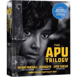 The Apu Trilogy Box Set (Blu-ray Disc)