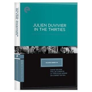 Eclipse Series 44: Julien Duvivier In The Thirties (DVD)