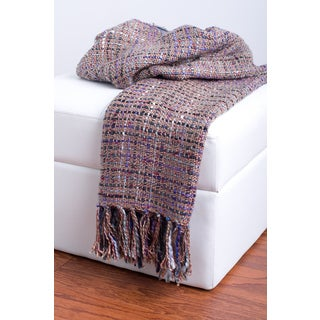 Rizzy Home Multi Decorative Throw