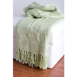 Rizzy Home Natural Decorative Throw