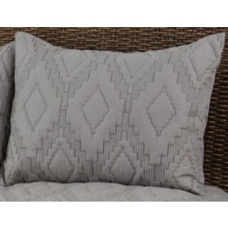 Rizzy Home Tapper Grey Sham
