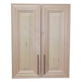 Donovan 32-inch High 2-door 7.25-inch On The Wall Frameless Medicine Cabinet