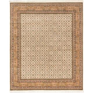 Ecarpetgallery Bijar Beige/ Cream Wool Mahee rug (8'0 x 9'9)