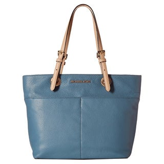 Michael Kors Bedford Cornflower Top-zip Pocket Tote