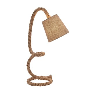 Rope Bent Neck Table Lamp
