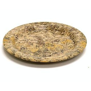 Fossil Stone 8-inch Serving Plate
