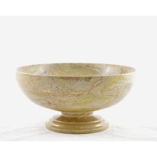 Nature Home Decor Sahara Beige Marble 9-inch Classic Bowl