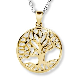 ELYA Stainless Steel Tree of Life Pendant