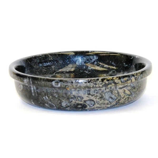 Nature Home Decor Charming BlackMarble 6-inch Candy Bowl