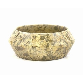 Fossil Stone 8-inch Fruit Bowl