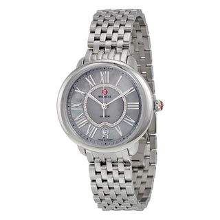 Michele Women's MWW21B000040 'Serein 16' Diamond Stainless Steel Watch