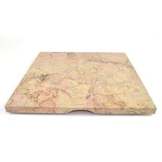 Nature Home Decor Sahara Beige 12-inch Square Cheese Board