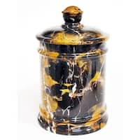 Nature Home Decor Michaelangelo Marble Classic 7-inch Kitchen Canister