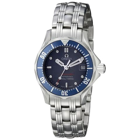 Omega Women's O2224.80 'Seamaster' Stainless Steel Watch
