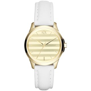 Armani Exchange Women's AX5236 White leather Watch