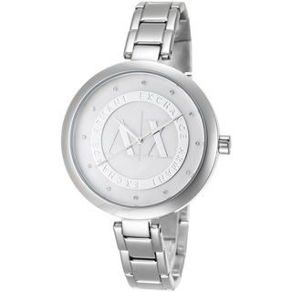 Armani Exchange Women's AX4223 Crystal Stainless Steel Watch