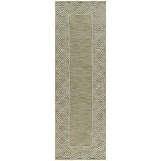 Hand-loomed Halstead Wool Area Rug (2'6 x 8')