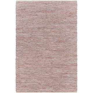 Hand-Woven Aylsham Stripe Indoor Jute Area Rug (4 x 6 - Taupe)
