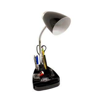 Limelights Gooseneck Organizer Desk Lamp with Device Holder (2 options available)