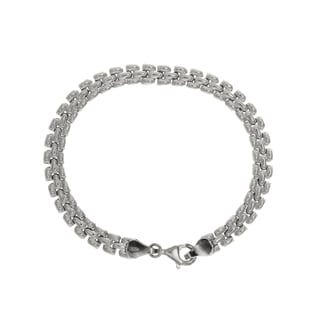 Sterling Essentials Silver Pantera Bracelet