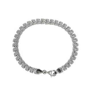 Sterling Essentials Silver Pantera Bracelet