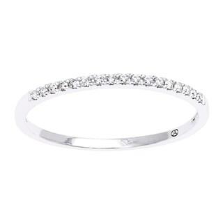 Beverly Hills Charm 14K Gold Diamond Accent Anniversary Band Ring (H-I, SI2-I1)