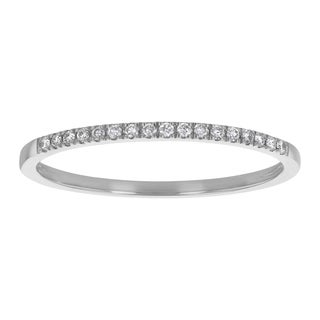Beverly Hills Charm 14K Gold Diamond Accent Anniversary Band Ring