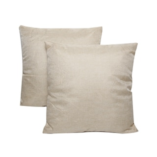 Cream 16-inch Throw Pillows (Set of 2)