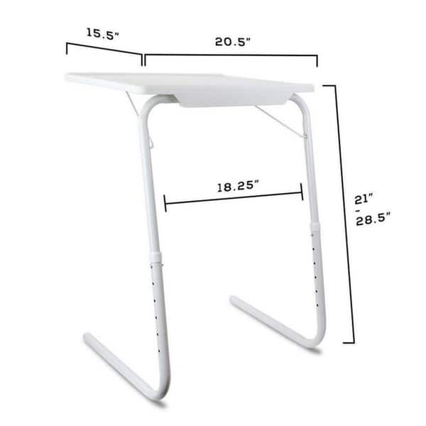 Shop Portable Foldable Tv Tray Table Laptop Eating Stand