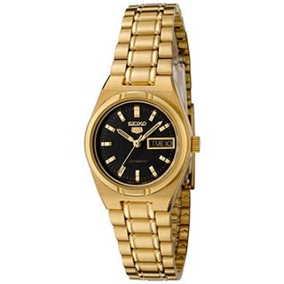 Seiko Women's 5 Automatic SYM602K Gold Stainless-Steel Automatic Watch