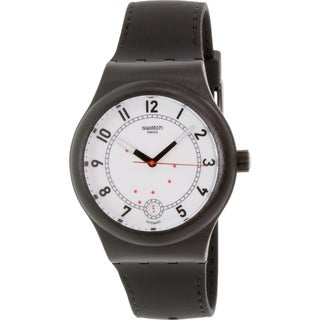 Swatch Men's Originals SUTB402 Black Rubber Swiss Automatic Watch