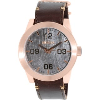 Nixon Men's Corporal A2432001 Rose Gold Leather Quartz Watch