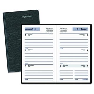AT-A-GLANCE DayMinder Weekly Pocket Planner, 3 1/2 x 6 3/16, Black, 2018