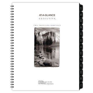 AT-A-GLANCE Executive Fashion Weekly/Monthly Planner Refill, 8 1/4 x 10 7/8, 2018