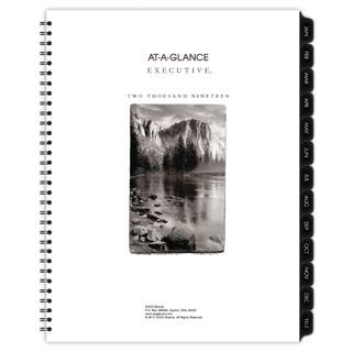 AT-A-GLANCE Executive Fashion Weekly/Monthly Planner Refill, 8 1/4 x 10 7/8, 2018|https://ak1.ostkcdn.com/images/products/10473842/P17563633.jpg?impolicy=medium