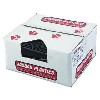 Jaguar Plastics Black Repro Low-Density Can Liners (Pack of 100 Liners)