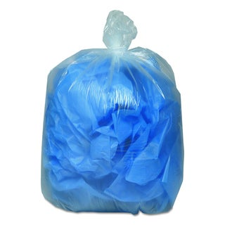 Earthsense Commercial Clear 31-33gal Recycled Can Liners (Pack of 100 Liners)