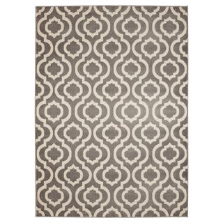 Jasmin Collection Contemporary Moroccan Trellis Area Rug (7'10 x 9'10)