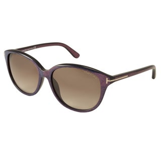 Tom Ford Women's TF329 Karmen Rectangular Sunglasses