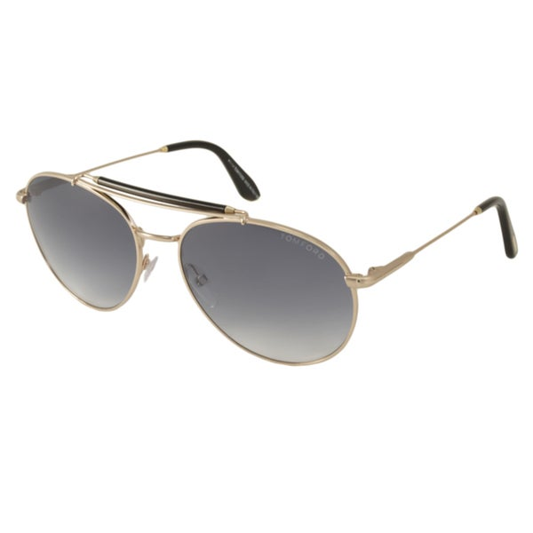 77644982505c9 Shop Tom Ford Men s TF338 Colin Aviator Sunglasses - Free Shipping ...