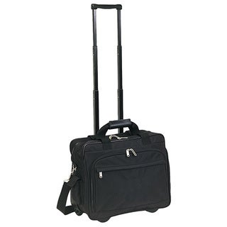 Goodhope Rolling Compact Laptop Organizer Briefcase