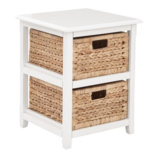 Havenside Home Seadrift Two Drawer Storage Unit