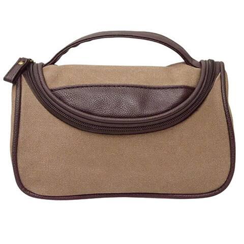 Goodhope Arlington Canvas Cosmetic Bag