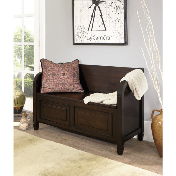 WYNDENHALL Hampshire Entryway Storage Bench - Free Shipping Today ...