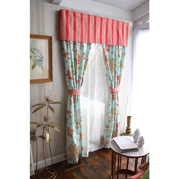 Amy Butler For Welspun Sairbloom Window Panel with Tieback