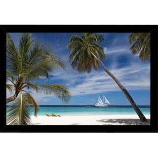 Embudo Daydream Poster (36-inch 24-inch) with Contemporary Poster Frame