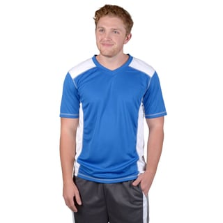 Vance Co. Men's Short-sleeve Moisture Wicking V-neck Tee
