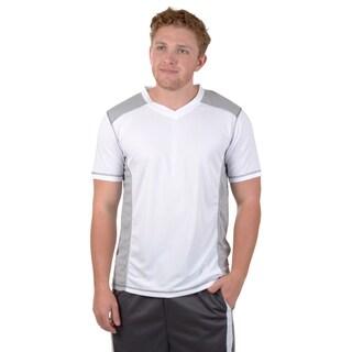 Vance Co. Men's Short-sleeve Moisture Wicking V-neck Tee
